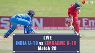 Live Cricket Score, India vs Zimbabwe: India win by 10 wickets
