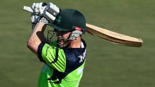 Ireland need 195 runs from 27 Overs against Australia in one-off ODI at Belfast