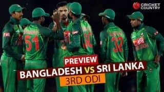Bangladesh vs Sri Lanka, 3rd ODI at Colombo, Preview: Mashrafe Mortaza and co. eye historic series win