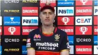IPL 2020 SRH vs RCB Eliminator : We lost track after 10th game; Says Simon Katich
