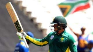 Quinton de Kock becomes fastest wicketkeeper-batsman to score 3,000 runs in ODIs