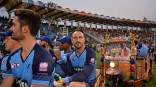 Faf du Plessis: We felt safe at Lahore during Pakistan-World XI T20I series