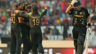 Pakistan vs Australia 2014: Both teams to focus on spin ahead of ODIs