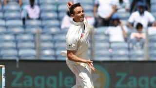 Steve O'Keefe never expected to spark batting collapse twice