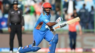 Mohammad Shahzad, Rahmat Shah's fifties guide Afghanistan to 238 in 2nd ODI against Zimbabwe