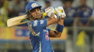 Mumbai Indians put up 50-run stand for 2nd wicket against Chennai Super Kings in IPL 2015 Final