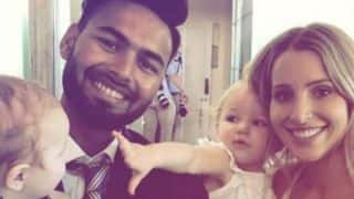 Rishabh Pant becomes babysitter of Tim Paine's kids, ICC shares Picture