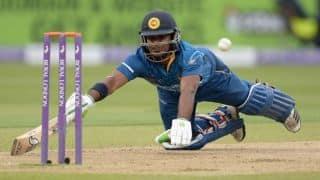 Sri Lanka vs England 2014: Kusal Perera dismissed for golden duck in opening over