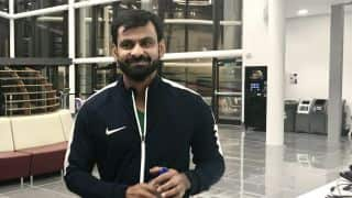 Mohammad Hafeez undergoes bowling action test in England