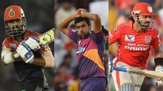 IPL 2017: KL Rahul, Ravichandran Ashwin, Murali Vijay set to miss out