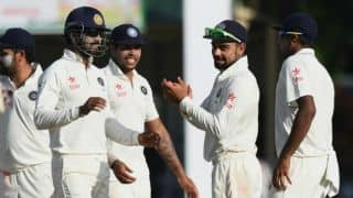 3rd Test, Day 4: India 7 wickets away from win over Sri Lanka in Delhi