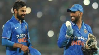 Kohli: Dhoni's presence helping me understand limited-over captaincy better