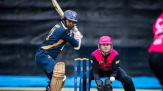 Hong Kong T20 Blitz 2018, Day 4: Kumar Sangakkara, Roelof van der Merwe, Sohail Tanvir shine in 2 contrasting matches