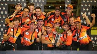 Big Bash Final: Perth Scorchers vs Hobart Hurricanes