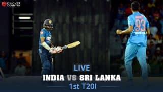 Live Cricket Score, India vs Sri Lanka, 1st T20I at Cuttack: India thrash Sri Lanka 93 runs
