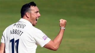 Record-breaking Kyle Abbott sizzles with best First-Class figures in 63 years