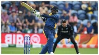 ICC WORLD CUP 2019: Dimuth Karunaratne becomes second opening batsman after Ridley Jacobs to carry bat in the World Cup