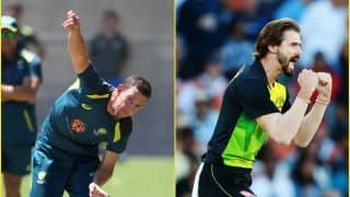 Josh Hazlewood and Kane Richardson put on standby for World Cup