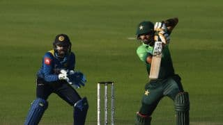 Babar Azam's 2nd consecutive hundred defies Sri Lanka, takes Pakistan to 219 for 9