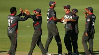Rohan Mustafa's 109* and 5-for earn UAE 106-run victory over Papua New Guinea in one-off ODI