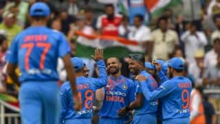 India vs South Africa, 1st T20I: Shikhar Dhawan's fifty, Bhuvneshwar Kumar's 5-for and other highlights from Wanderers