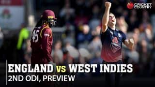 England vs West Indies, 2nd ODI preview and likely XIs: Will visitors move on from 'lost opportunity' and compete in remaining games?
