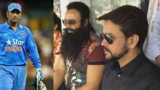 Gurmeet Ram Rahim Singh Insan's presence helps India win 1st ODI; now to help Anurag Thakur against Lodha Panel