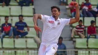 Bangladesh vs West Indies: Taijul Islam puts hosts up 1-0 with three-day victory