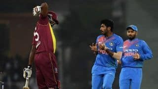 Watch: Jasprit Bumrah is furious with Kieron Pollard's antics in Lucknow T20I