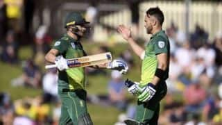 3rd ODI: David Miller, Faf du Plessis tons set Australia 321 in decider