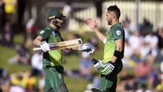 3rd ODI: David Miller, Faf du Plessis tons set Australia 321 in decider