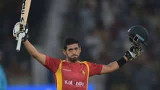 A new high for Sikandar Raza