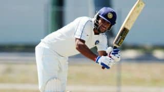 Saurabh Tiwary hits ton as Jharkhand reach 229/2 against Goa on Day 1 of Ranji Trophy 2014-15 tie