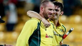 New Zealand vs Australia, 2nd ODI at Wellington: Mitchell Marsh-John Hastings lead Australia to 4-wicket victory