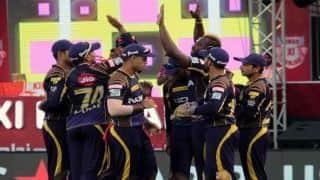 हैदराबाद को 5 विकेट से हरा कोलकाता ने कटाया प्लेऑफ का टिकट
