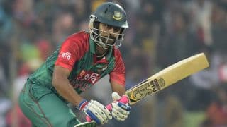 Bangladesh vs New Zealand, Match 28 of T20 World Cup 2016: Tamim Iqbal run out by Colin Munro