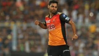 IPL 2018, Match 10: KKR totter to 138 for 8; Bhuvneshwar Kumar, Shakib Al Hasan put SRH on top