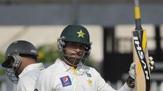 Pakistan in control against Bangladesh at tea in 1st Test, Day 2 at Khulna