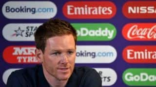 Cricket World Cup 2019 – We're probably more confident than we were three games ago: Eoin Morgan