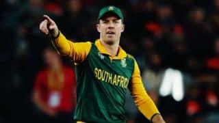 ए बी डीविलियर्स ने छोड़ी द.अफ्रीकी वनडे टीम की कप्तानी