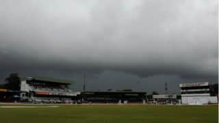 India 50/2 against Sri Lanka at stumps on Day 1 of 3rd Test at Colombo (SSC) after poor weather interrupts play