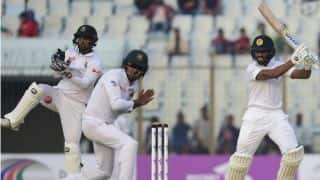 Bangladesh trail Sri Lanka by 119 runs at stumps, Day 4, 1st Test