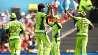 Pakistan vs South Africa in ICC Cricket World Cup 2015: Quinton de Kock dismissed early