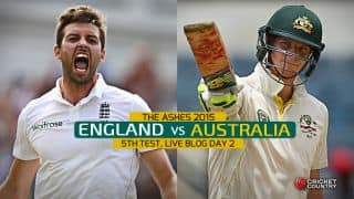 ENG 107/8 | Live Cricket Score England vs Australia, The Ashes 2015, 5th Test at The Oval, Day 2: England trail by 374