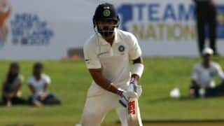 Kohli becomes 7th IND captain to score 1,000 Test runs at overseas