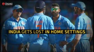 India vs Australia, ICC Cricket World Cup 2015, Semi-Final: India gets lost in home setting