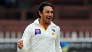 Saeed Ajmal reported for suspect bowling action during 1st Test against Sri Lanka