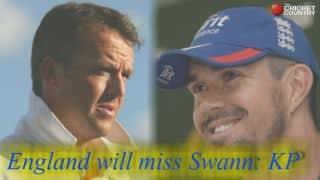 Kevin Pietersen: Graeme Swann's absence will hurt England