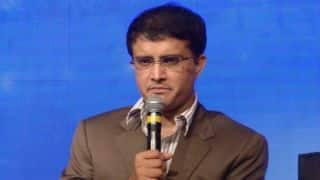 Sourav Ganguly unveiled his bronze statue