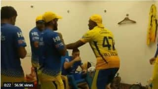 IPL 2018: Watch Dwayne Bravo slay his dance moves after victory against SRH